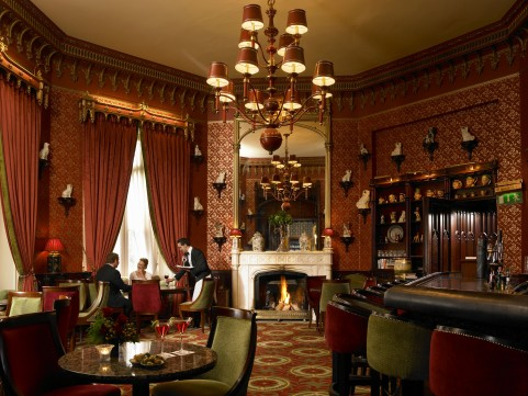 The Cocktail Bar at Dromoland Castle in County Clare.